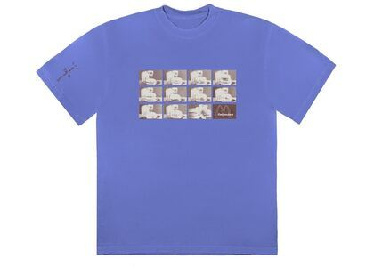 Travis Scott x McDonald's Menu Mono Logo III T-Shirt Washed Purpleの写真