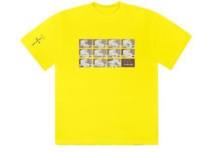 Travis Scott x McDonald's Menu Mono Logo II T-Shirt Yellowの写真
