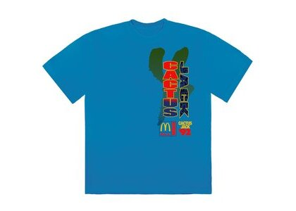 Travis Scott x McDonald's All American '92 II T-Shirt Blueの写真