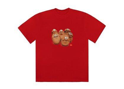 Travis Scott x McDonald's Squad T-Shirt Redの写真