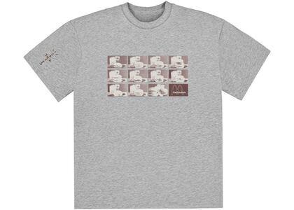 Travis Scott x McDonald's Menu Mono Logo T-Shirt Greyの写真