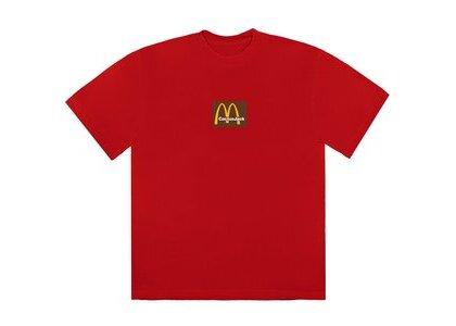 Travis Scott x McDonald's Sesame Inv III T-Shirt Redの写真
