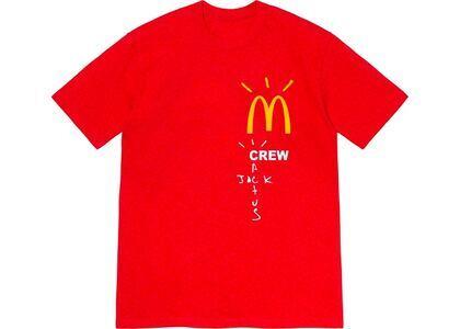 Travis Scott x McDonald's Crew T-Shirt Redの写真