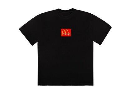 Travis Scott x McDonald's Sesame II T-Shirt Black/Redの写真