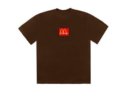 Travis Scott x McDonald's Sesame III T-Shirt Brownの写真