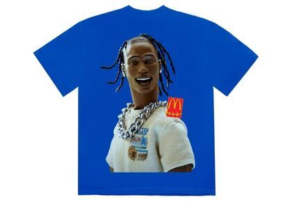 Travis Scott x McDonald's Action Figure Series III T-Shirt Blueの写真