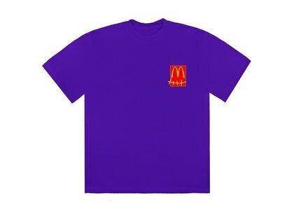 Travis Scott x McDonald's Action Figure Series II T-Shirt Purpleの写真