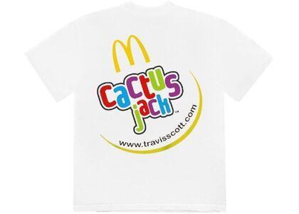 Travis Scott x McDonald's Cj Smile T-Shirt Whiteの写真