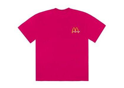 Travis Scott x McDonald's Vintage Action Figure II T-Shirt Pinkの写真