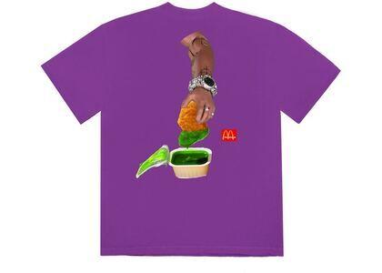 Travis Scott x McDonald's Cactus Sauce III T-Shirt Purpleの写真
