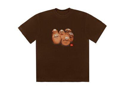 Travis Scott x McDonald's Squad III T-Shirt Brownの写真