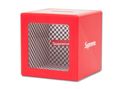 Supreme Illusion Coin Bank Redの写真