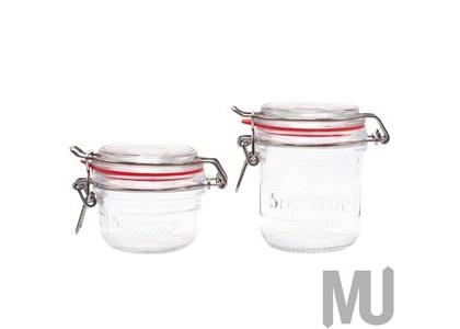 Supreme Jars (Set of 2) Clearの写真