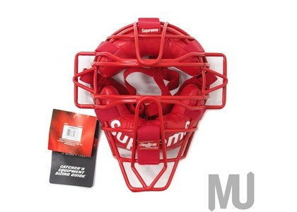 Supreme Rawlings Catcher's Mask Redの写真