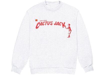 Travis Scott x McDonald's Cactus Jack Spelling II Crewneck Whiteの写真