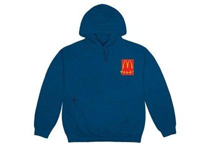 Travis Scott x McDonald's Up All Night Sticker Hoodie Navyの写真