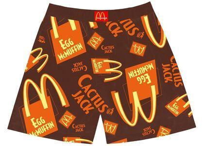 Travis Scott x McDonald's Cactus Jack Breakfast Boxers Brownの写真