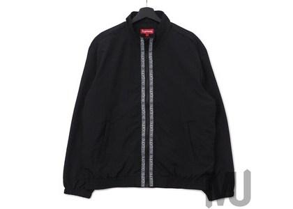 Supreme Classic Logo Taping Track Jacket Blackの写真