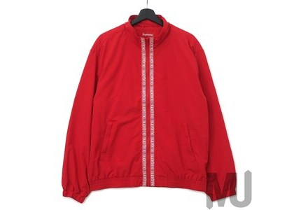 Supreme Classic Logo Taping Track Jacket Redの写真