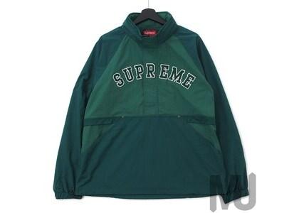 Supreme Court Half Zip Pullover Dark Greenの写真