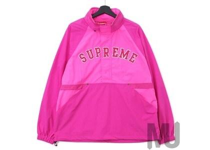 Supreme Court Half Zip Pullover Magentaの写真