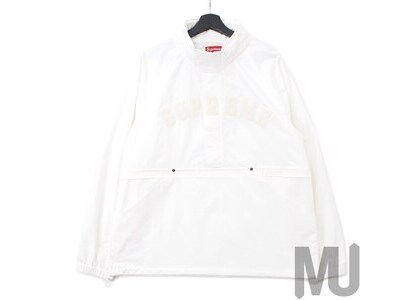 Supreme Court Half Zip Pullover Whiteの写真