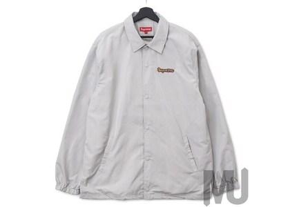 Supreme Gonz Logo Coaches Jacket Greyの写真