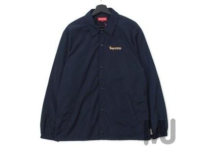 Supreme Gonz Logo Coaches Jacket Navyの写真