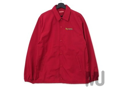 Supreme Gonz Logo Coaches Jacket Redの写真