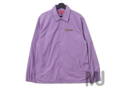 Supreme Gonz Logo Coaches Jacket Violetの写真