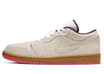 Nike Air Jordan 1 Low White Gum Hyper Pink