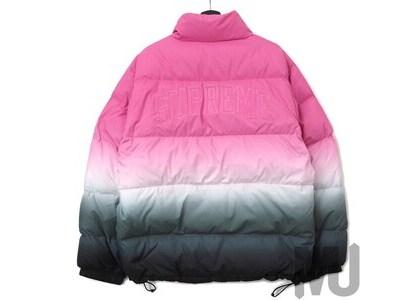 Supreme Gradient Puffy Jacket Pinkの写真