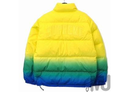 Supreme Gradient Puffy Jacket Yellowの写真