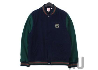 Supreme LACOSTE Wool Varsity Jacket Navyの写真