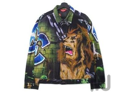 Supreme Lion's Den Denim Trucker Jacket Multiの写真