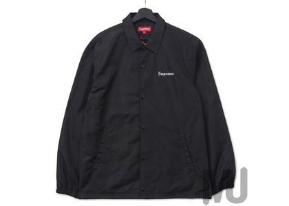 Supreme Nan Goldin Misty and Jimmy Paulette Coaches Jacket Blackの写真
