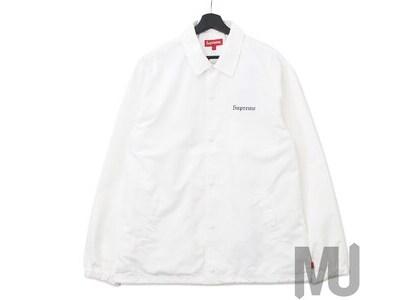 Supreme Nan Goldin Misty and Jimmy Paulette Coaches Jacket Whiteの写真