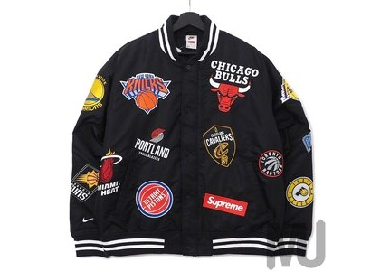 Supreme Nike/NBA Teams Warm-Up Jacket Blackの写真
