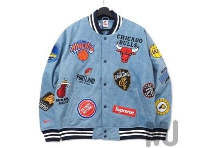 Supreme Nike/NBA Teams Warm-Up Jacket Denimの写真