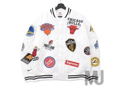 Supreme Nike/NBA Teams Warm-Up Jacket Whiteの写真