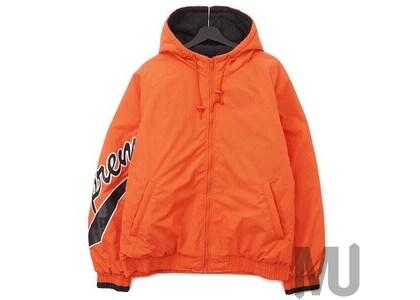 Supreme Sleeve Script Sideline Jacket Orangeの写真