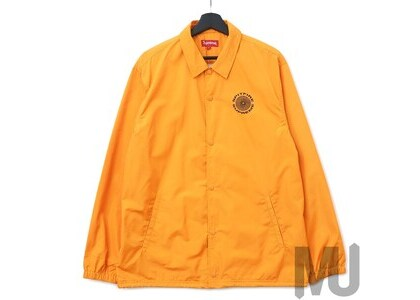 Supreme Spitfire Coaches Jacket Bright Orangeの写真