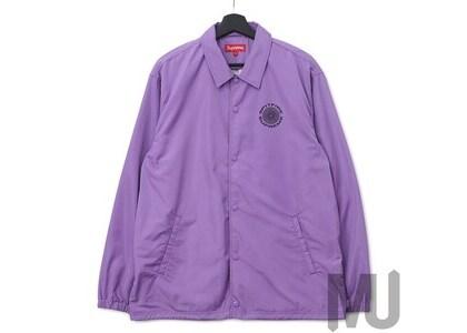 Supreme Spitfire Coaches Jacket Light Purpleの写真
