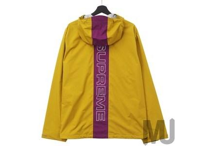 Supreme Taped Seam Jacket (SS18) Goldの写真