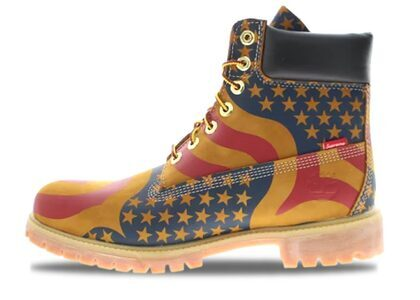 Supreme × Timberland 6 Boot Stars & Stripes Wheatの写真