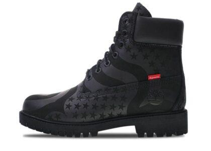 Supreme × Timberland 6 Boot Stars & Stripes Blackの写真