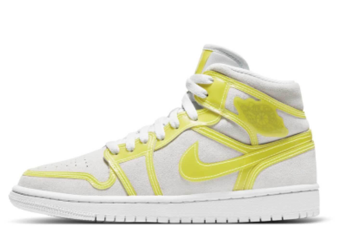 Nike Air Jordan 1 Mid LX Opti Yellow Womensの写真