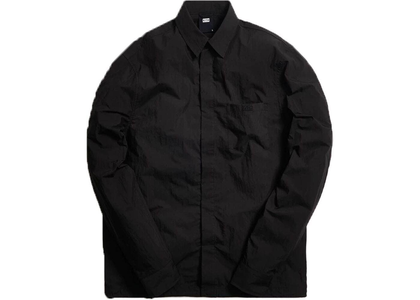 Kith Collared Button Down Shirt Blackの写真