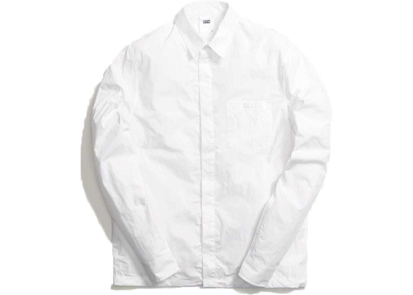 Kith Collared Button Down Shirt Whiteの写真