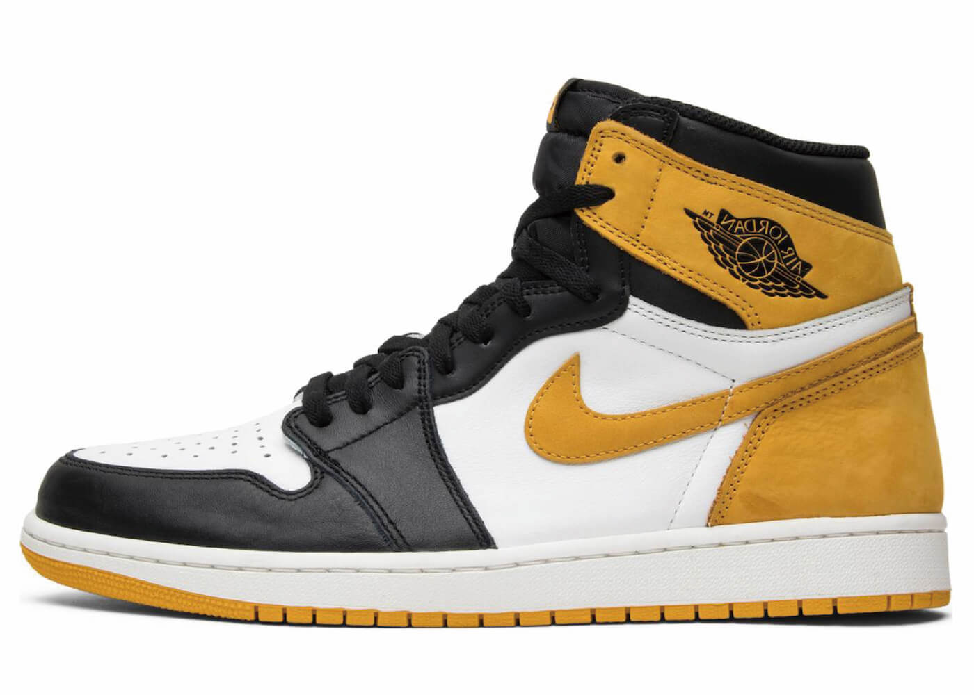 JORDAN 1 RETRO HIGH OG YELLOW OCHREの写真